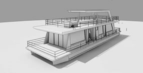House Boat Design