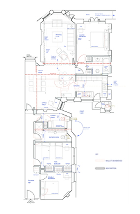 Space planning services project management from rmd for Interior design space planning questionnaire