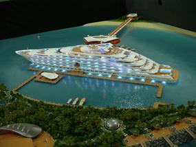 The Aquiva Concept Superyacht Hotel From Rainsford Mann