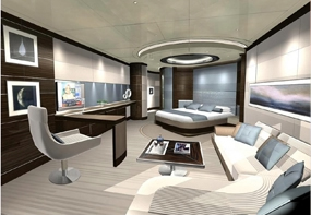 Superyacht Hotel Concept Design Interior