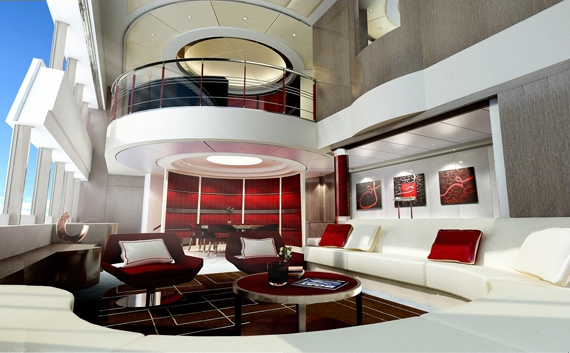 Superyacht concept design bespoke solutions and design for Hotel design concept